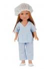 Carlota Nurse With Blue Uniform 28 cm