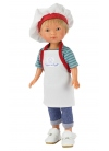 Nylo Cook With Apron And Hat 28 cm