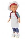 Nylo Cuoco Con Grembiule E Cappello 28 cm