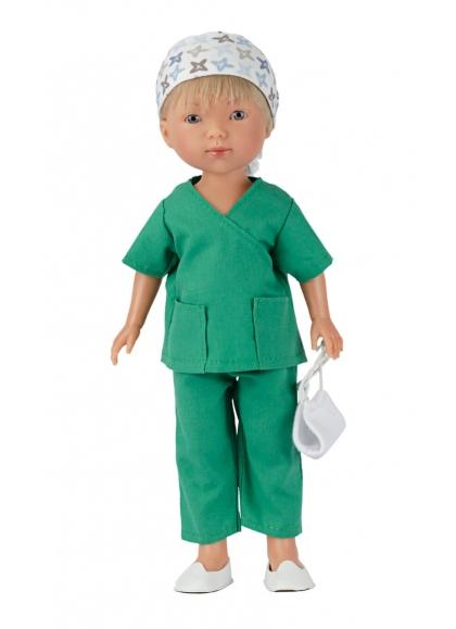 Nylo Surgeon Uniform Green 28 cm