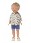 Nylo With Short Jeans And Printed Shirt 28 cm