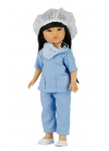 Umi Enfermera Con Uniforme Azul 28 cm