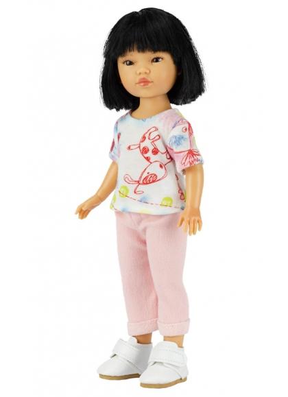 Umi Con Jeans Rosa Y Camiseta Estampada 28 cm