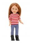 Paulina Con Jeans y Camiseta A Rayas 33 cm