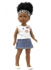 Brandy With Jeans Skirt And Insect T-shirt 28 cm