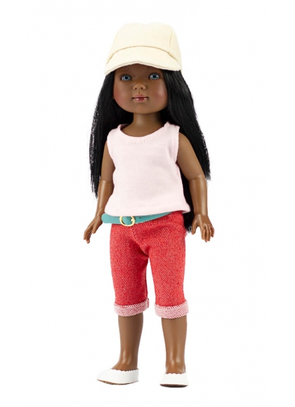 Brandy With Red Jeans and T-shirt 28 cm