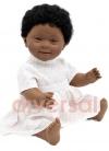 Niña Negrita Sindrome Down 40 cm