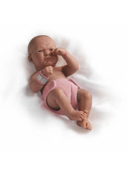 Muñecas Berenguer Boutique la Newborn LA NEWBORN, NIÑA RECIEN NACIDA CON PUCHEROS,36 CM