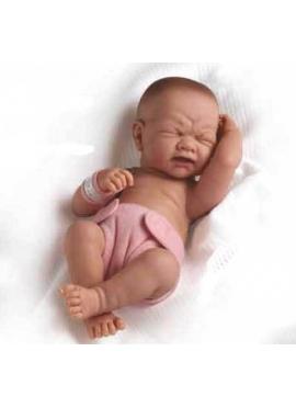 LA NEWBORN GIRL WAS BORN WITH CLOSED EYES, 36 CM