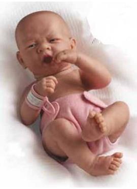 LA NEWBORN, JUST BORN, GIRL, EUROPEAN 36 CM