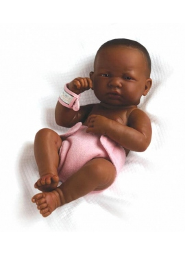 LA NEWBORN, JUST BORN GIRL, AFRICAN-AMERICAN 36 CM