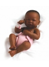 LA NEWBORN, JUST BORN GIRL, AFRICAN-AMERICAN 36 CM