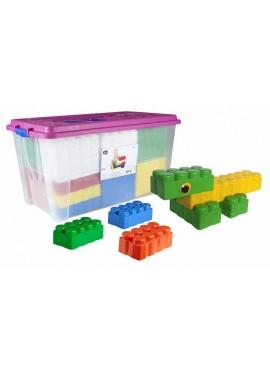 Bloques Gigantes Cubeta XXL 50 piezas