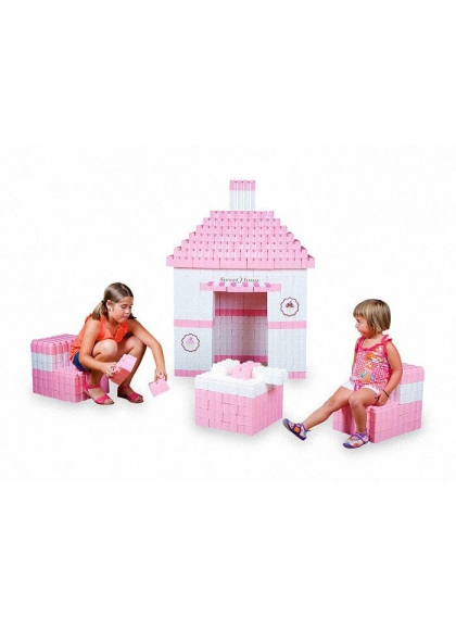 I blocchi Giganti Sweet Home 384 pezzo