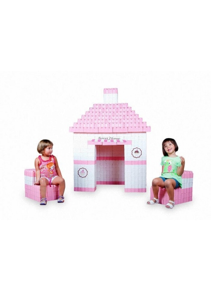 Giant Sweet Home Blocks 384 pieces