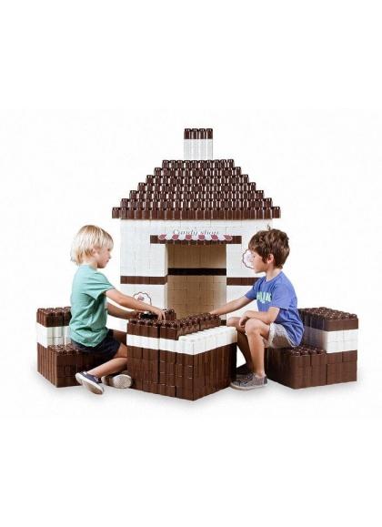 Les blocs Géants Candy Shop 384 pièces