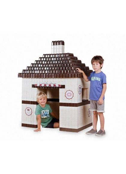 Bloques Gigantes Candy Shop 384 piezas