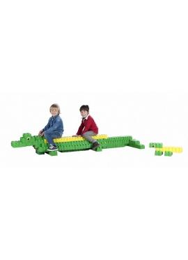Les blocs Gigantesques Crocodiles, 96 pièces