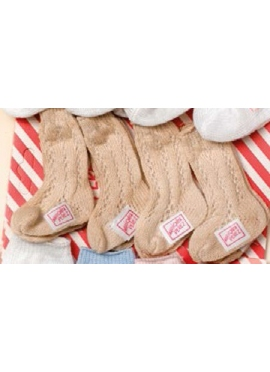 ACCESSORIES SOCKS BEIGE (4 PCs)