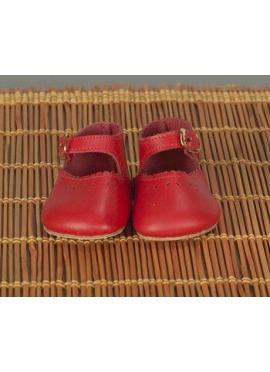 Merceditas Shoes Red