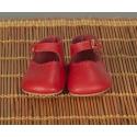 Chaussures Merceditas Rouge