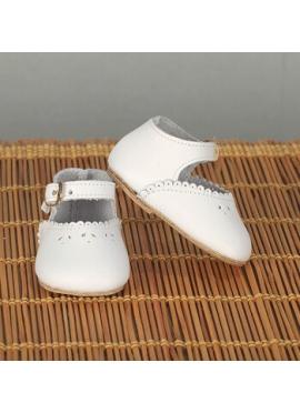 Merceditas Shoes White