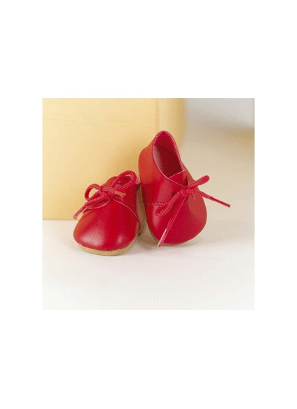 Shoes Red Lace