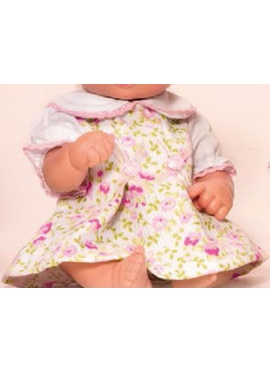 Dress flower White and Pink