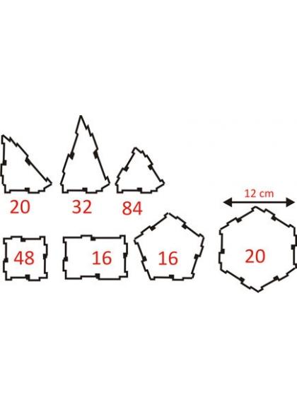 Connexion 236 pcs Conteneur