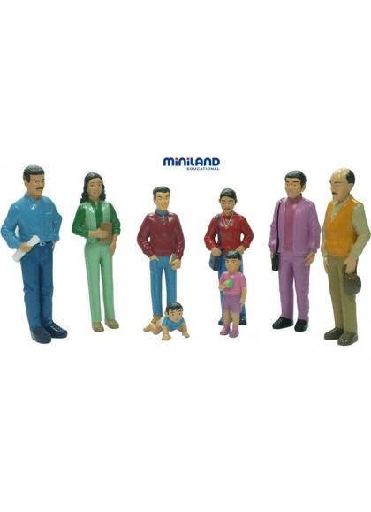 Латиноамериканская семья 8 фигурок