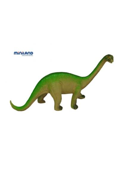 Динозавры - 12 фигурок в лодке с ручкой