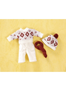 MINI SET WITH PANTS CORDUROY BEIGE
