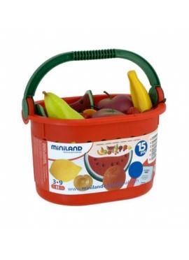 Корзина с фруктами 15 шт.