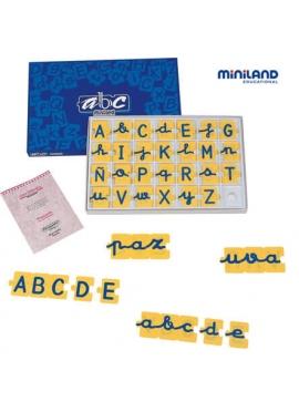 Abecedario Mayúsculas/Minúsculas Puzzle 168 pcs