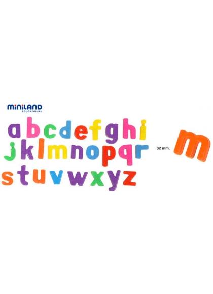 Juguetes Juego Educativo Juegos de Reglas Iniciación Al Lenguaje Letras Magnéticas Minúsculas 165 pcs Bote