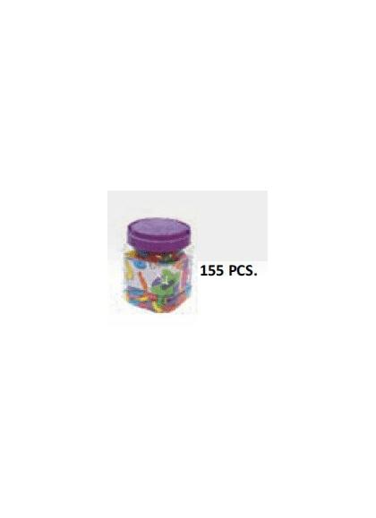 Letras Magnéticas Minúsculas 165 pcs Bote