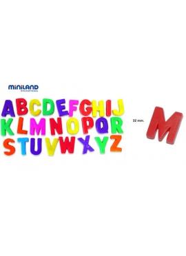 Магнитные буквы прописные 154 шт.