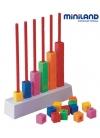 Juguetes Juego Educativo Juegos de Reglas Matemáticos Abacus Multibase 90 pcs con Actividades