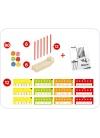 Abacus Multibase 90 pcs con Actividades
