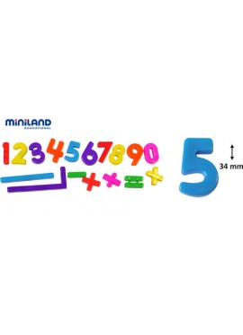 Numbers Magnetic 162 PCs 34 mm, Bank