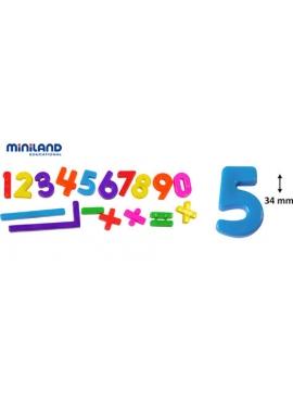 Les chiffres Magnétiques 162 pièces de 34 mm, la Banque