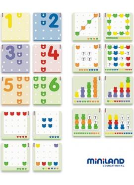 Osos Encadenados 108 pcs + 18 fichas + 6 placas