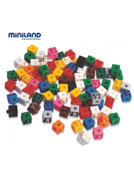 Cubes of 2 cm - 100 PCs Bank