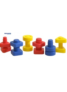 Bolts and Nuts 48 PCs