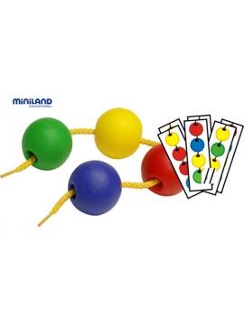 Balls Ensartables 35 mm 60 Balls + 10 Cords