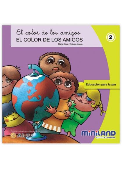 Color Friends color friends - Spanish