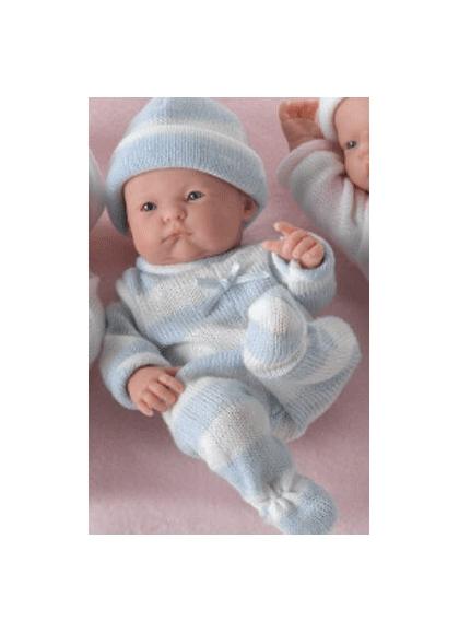 MINI LA le nouveau-NÉ,ENFANT, costumes tricot-3 finitions BOUCHE partiellement ouvert