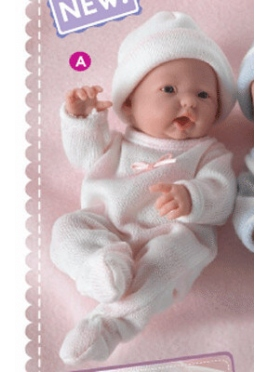 MINI LA NEWBORN GIRL costumes knit - 3 finish of the OPEN MOUTH
