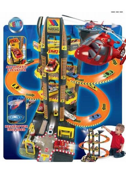 Parcheggio per auto Moltó Parcheggio, 4 piani + elicottero