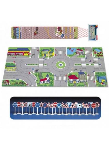 Tapiz Ciudad 2, con 24 señales de tráfico